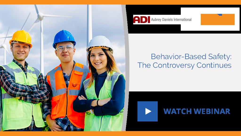 Behavior-Based Safety